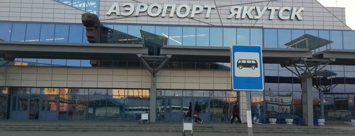Yakutsk Airport (YKS) is one of Airports (around the world).