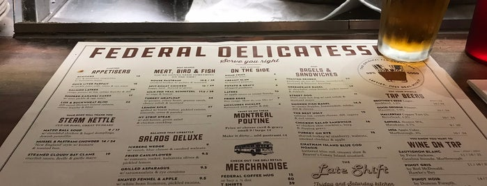 Federal Delicatessen is one of Bernie's Liked Places.
