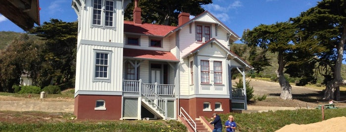 Port San Luis Lighthouse is one of SLO County Top Spots.