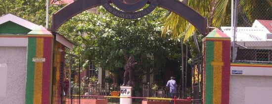 Bob Marley Museum is one of 100 Museums to Visit Before You Die.