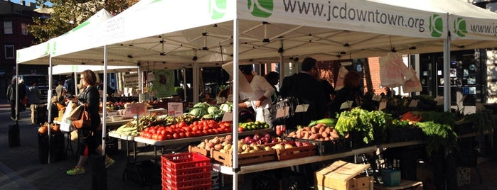 Grove Street Farmers' Market is one of Jersey City.