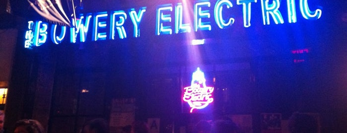 The Bowery Electric is one of Manhattan Favorites.