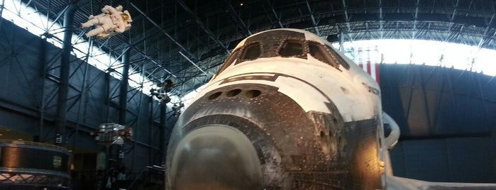 Steven F Udvar-Hazy Center is one of Visit a Space Shuttle.