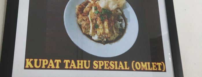 Kupat Tahu Magelang AA is one of Arieさんのお気に入りスポット.