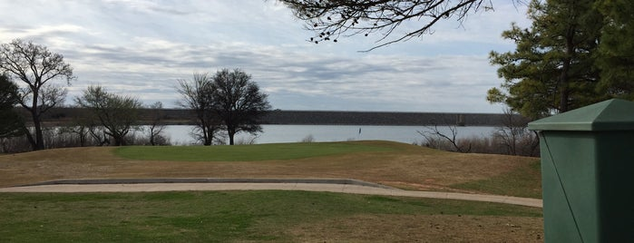 Fort Cobb State Park Golf Course is one of Lugares guardados de charlotte.