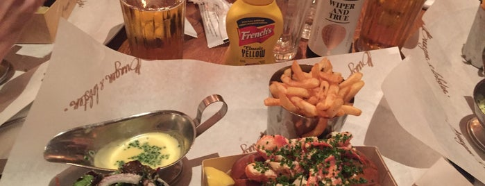 Burger & Lobster is one of Celal 님이 좋아한 장소.