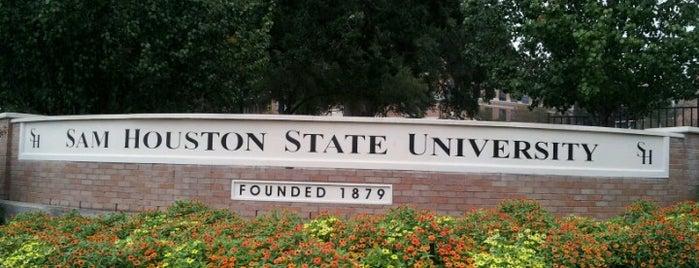 Sam Houston State University is one of Locais curtidos por James.