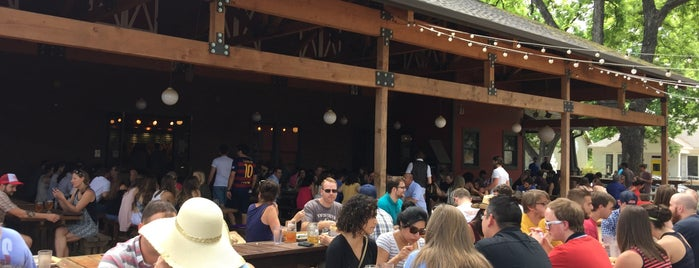 Banger's Sausage House & Beer Garden is one of America's Best Beer Gardens.