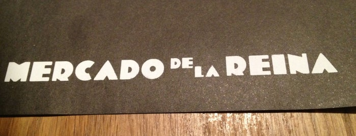 Mercado de la Reina is one of Madrid: Restaurantes +.