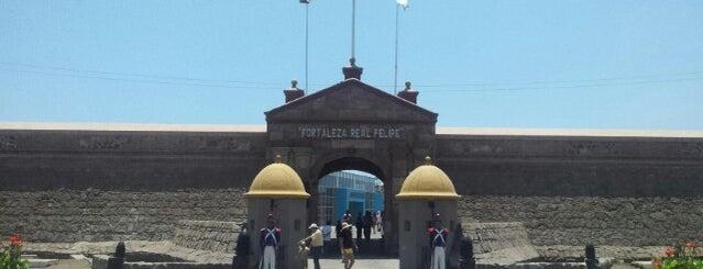 Fortaleza del Real Felipe is one of Lima, Perú.