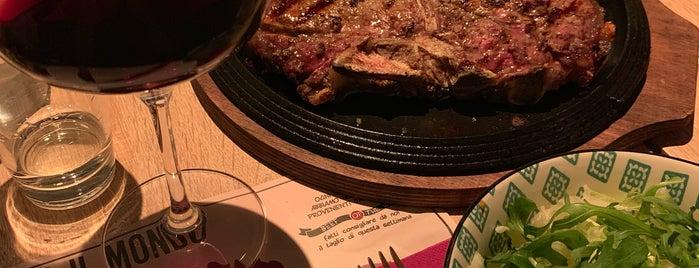 Beef Bazaar is one of Roma - a must! = Peter's Fav's.