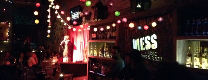 Mess is one of Pubs, bars and night clubs in Montevideo, Uruguay.