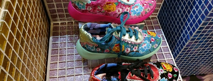 Irregular Choice is one of London.