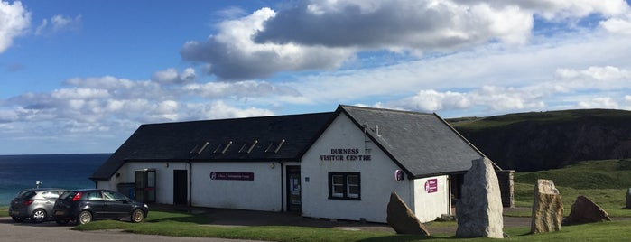 Durness VisitScotland Information Centre is one of Lieux sauvegardés par Kurt.
