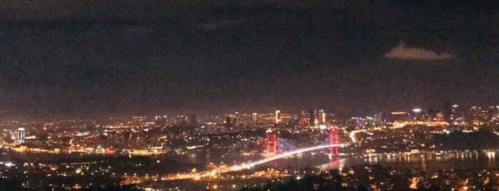 Çamlıca Tepesi is one of Istanbul.