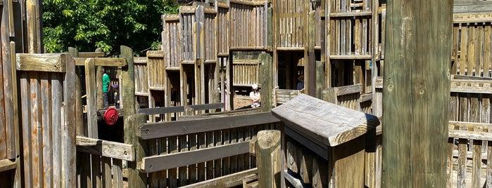 Phoenix Park Community Adventure Playground is one of Kickass Playgrounds.