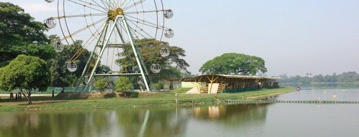 Inya Lake is one of Work Travels.