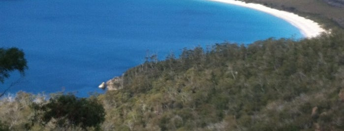 Wineglass Bay is one of Tourism.