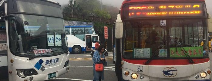 公車黃金博物館站 Gold Ecological Park Bus Station is one of Taipei Travel - 台北旅行.