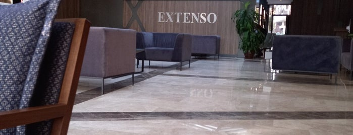 Extenso Hotel is one of Lieux qui ont plu à Mehmet Ali.