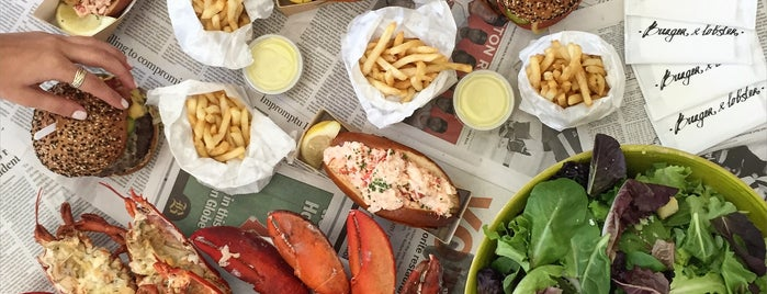 Burger & Lobster is one of Posti salvati di Marissa.