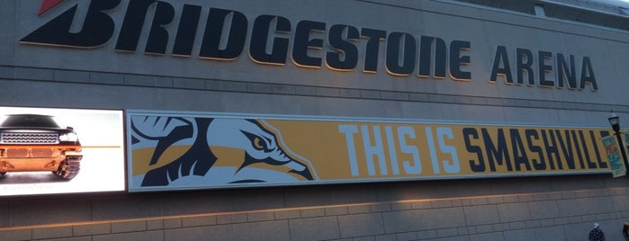 Bridgestone Arena is one of NHL~2014 Venues....