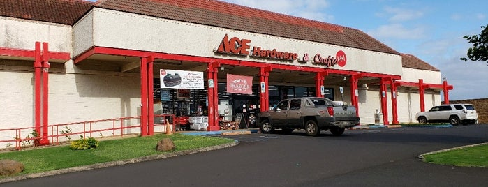 Kauai Ace Hdwe & Crafts is one of Shopping/Services.