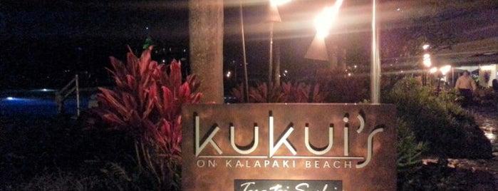 Kukui's on Kalapaki Beach is one of Travel.