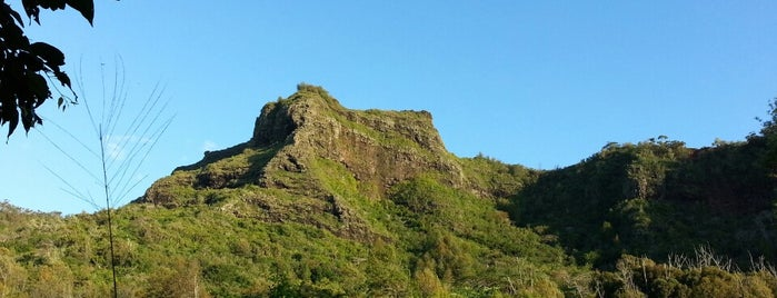 Sleeping Giant is one of Kauai.