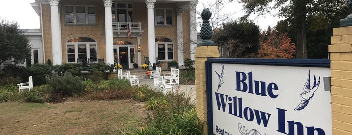 Blue Willow Inn Restaurant is one of Southern Soul Restaurants.