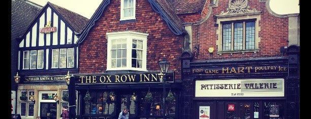 The Ox Row Inn is one of Abroad Staff.