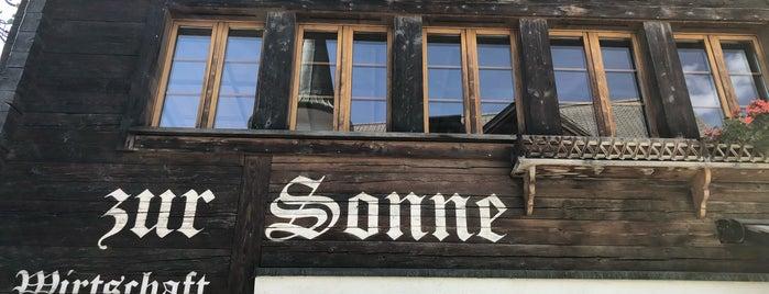 Restaurant Sonne is one of Orte, die Andreas gefallen.