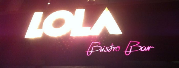 LOLA Bistro Bar is one of I don't give a f*ck.