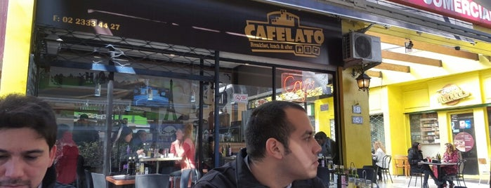 Cafelato is one of Santiago <3.