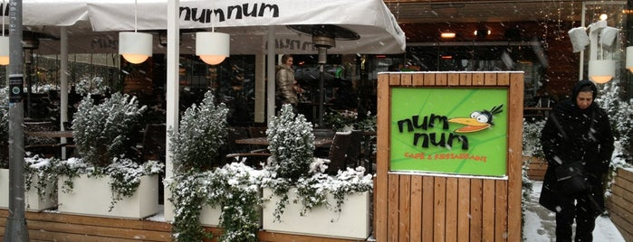 numnum is one of Restaurants, Cafes, Lounges and Bistros.
