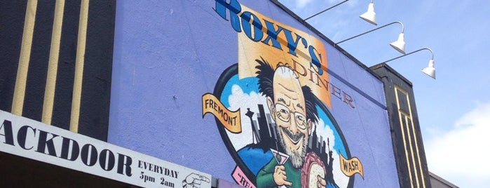 Roxy's Diner is one of Seattle.