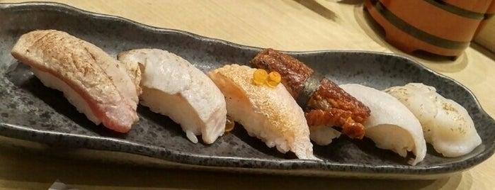Sushi Tei is one of สถานที่ที่ Chery San ถูกใจ.