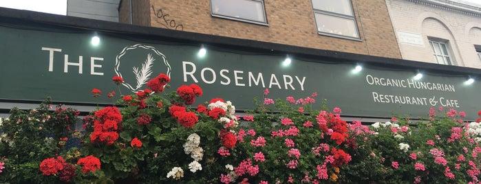 The Rosemary is one of Lieux sauvegardés par Danis.