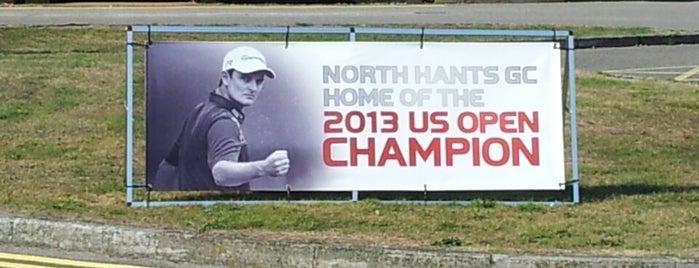North Hants Golf Club is one of Lugares favoritos de Mike.