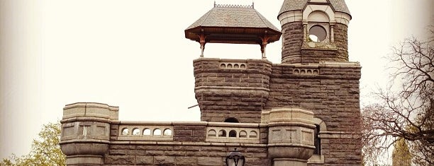 Belvedere Castle is one of Historic NYC Landmarks.