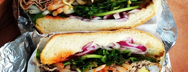 Sunny & Annie Gourmet Deli is one of NYC eats.