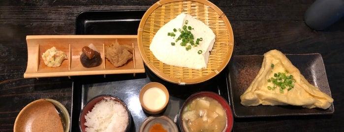 岡本とうふ店 is one of Tempat yang Disukai モリチャン.