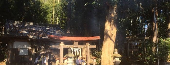 熊野神社 is one of Posti che sono piaciuti a モリチャン.