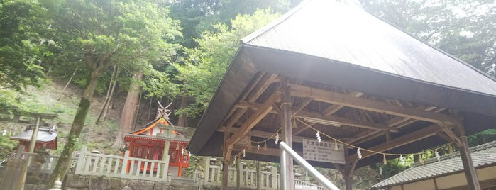 恋志谷神社 is one of Lieux qui ont plu à Shigeo.
