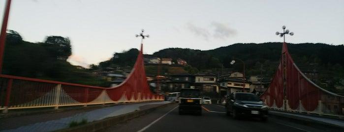 天竜橋 is one of 諏訪湖ポタ♪.