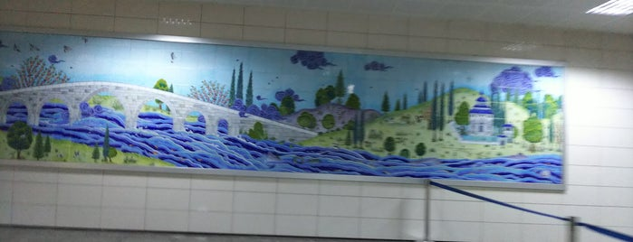 ASKİ Metro İstasyonu (M4) is one of Ankara Metro İstasyonları | Ankara Subway Stations.