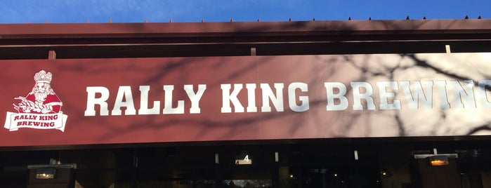 Rally King Brewing is one of Tempat yang Disukai Ryan.