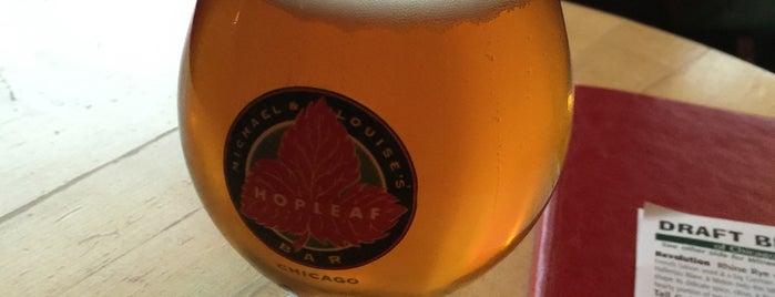 Hopleaf Bar is one of Lugares favoritos de Ryan.