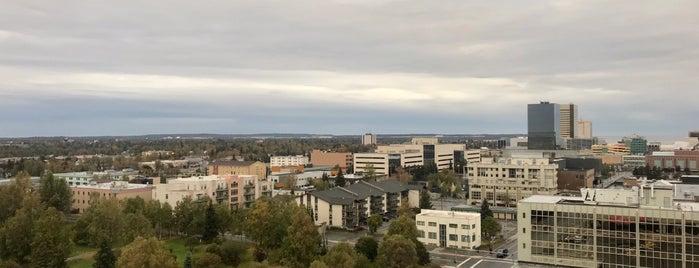 Downtown Anchorage is one of Locais curtidos por Fernando.
