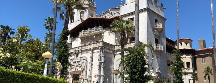 Hearst Castle is one of SF und Arizona.